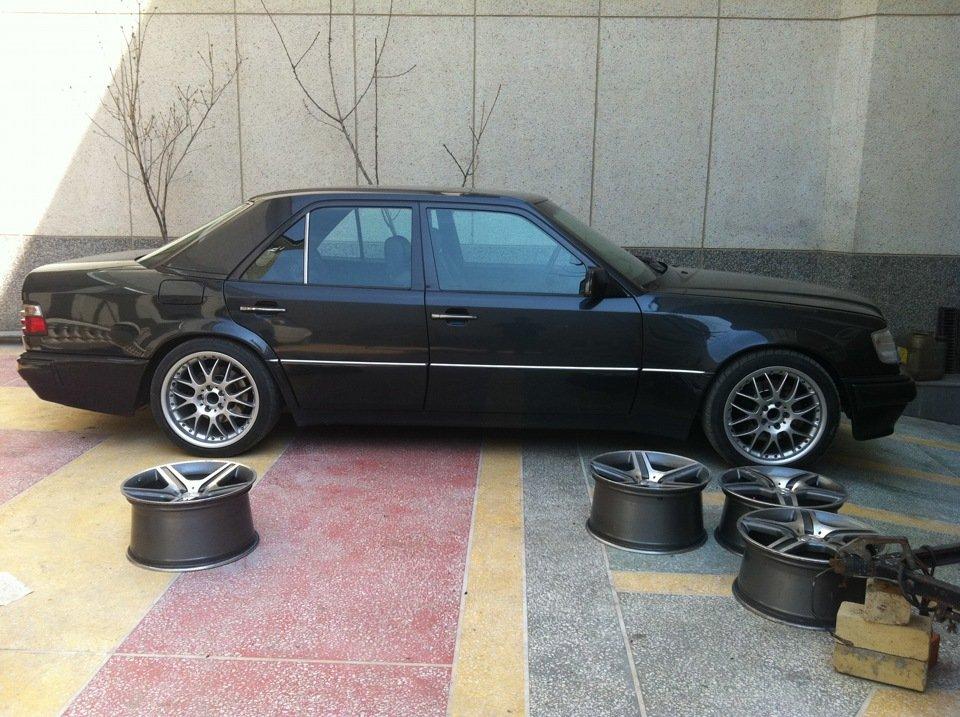 Mercedes E-class W124 E500 Black (4)