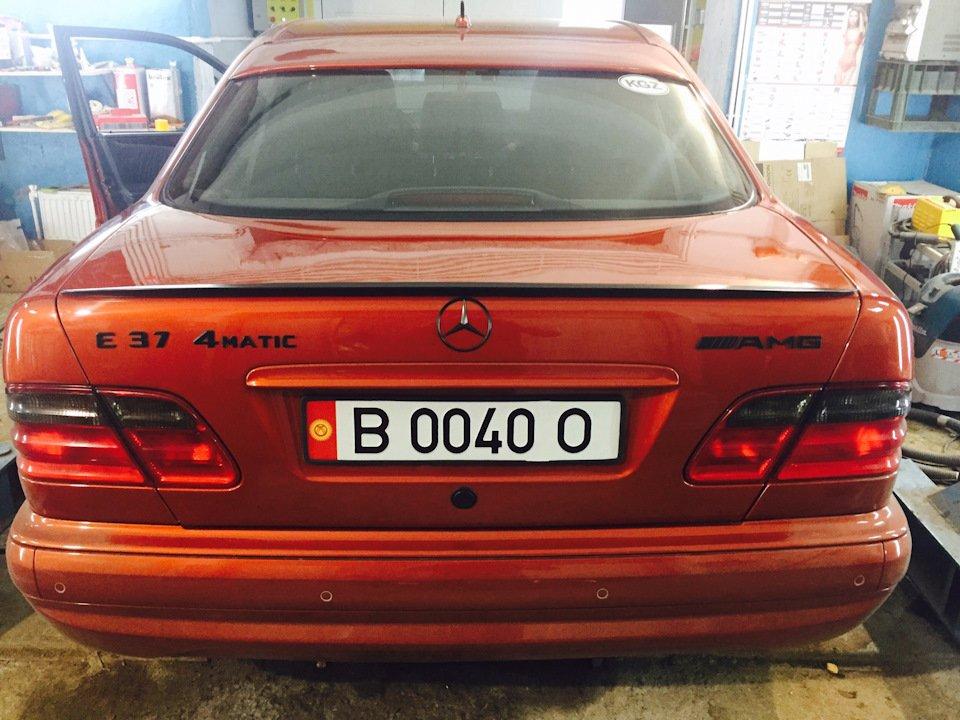 Mercedes E55 AMG SOLAR ORANGE 4WD W210 (19)