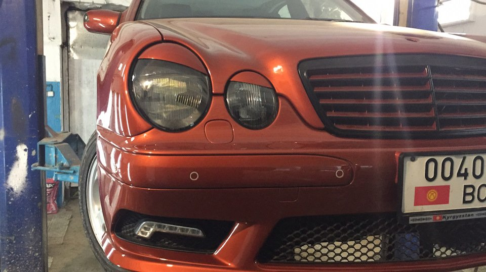 Mercedes E55 AMG SOLAR ORANGE 4WD W210 (25)
