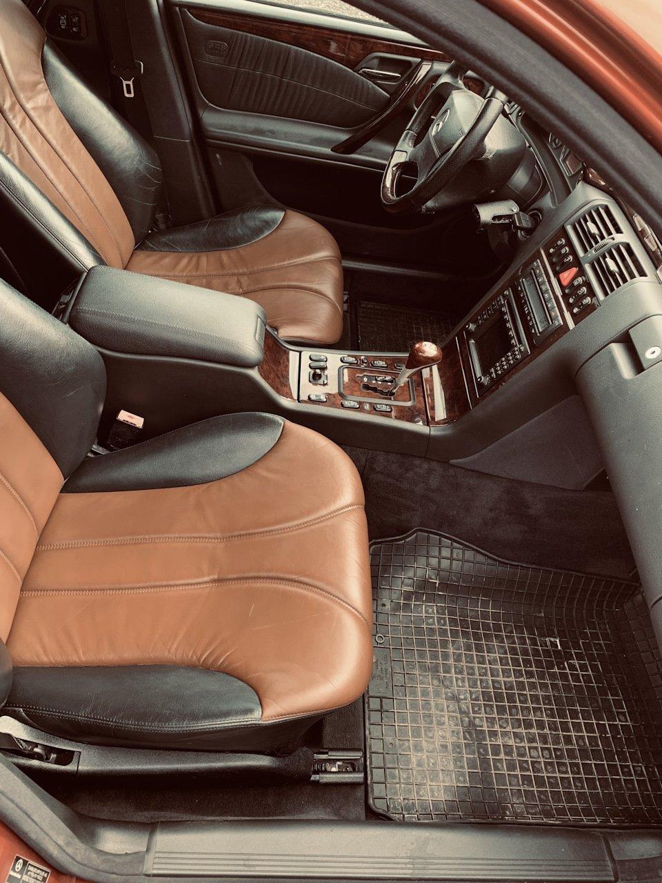 Mercedes E55 AMG SOLAR ORANGE 4WD W210 (42)