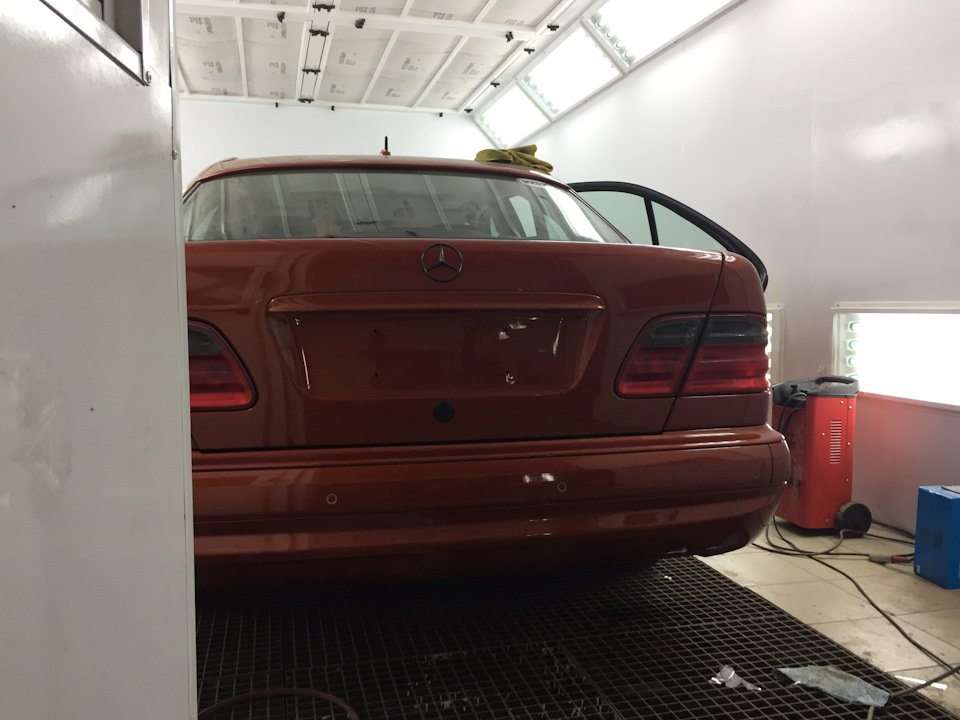 Mercedes E55 AMG SOLAR ORANGE 4WD W210 (44)