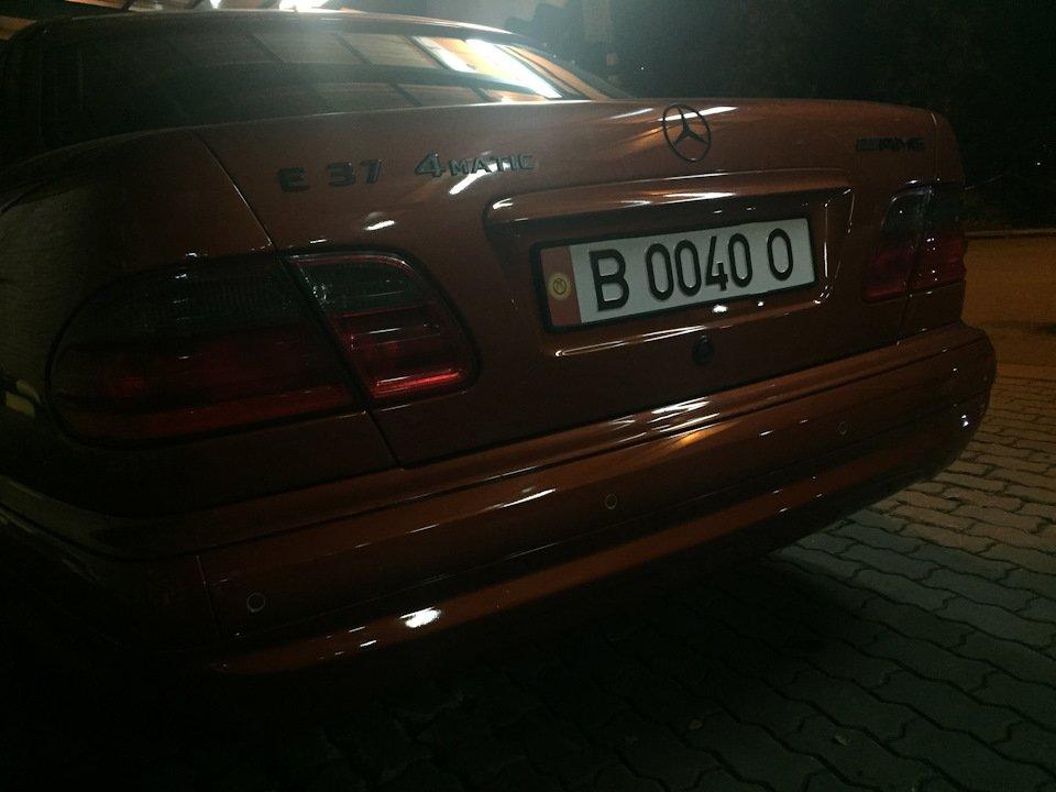 Mercedes E55 AMG SOLAR ORANGE 4WD W210 (46)