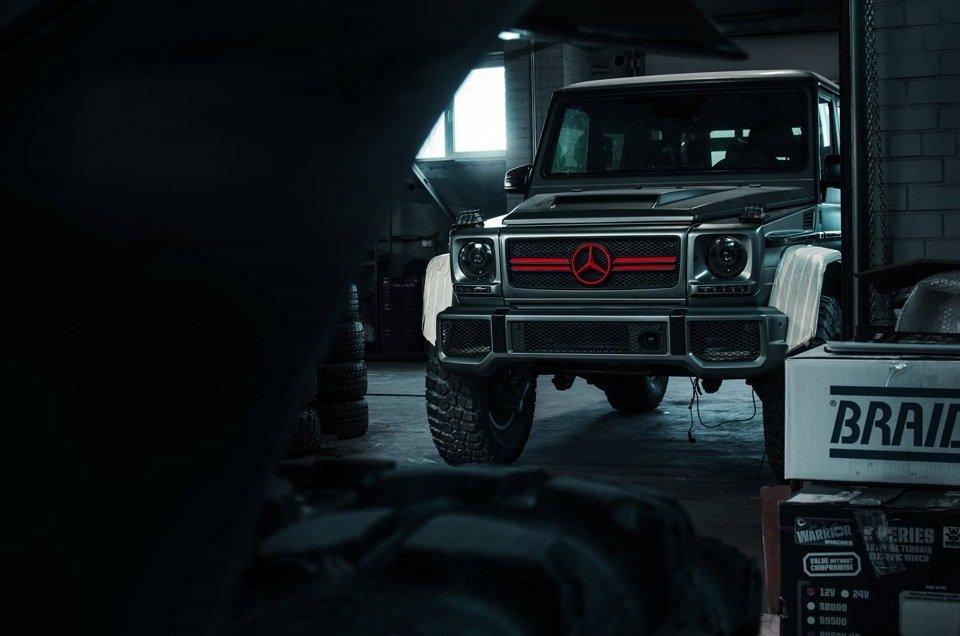 Mercedes G-class G7 4x4² By TRT (10)