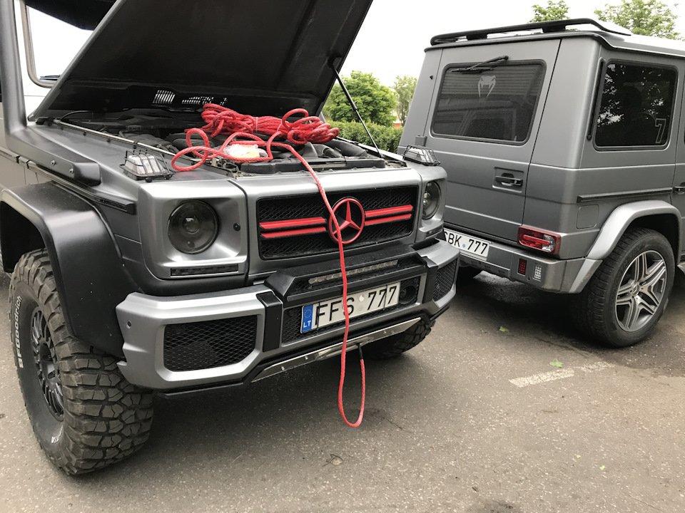 Mercedes G-class G7 4x4² By TRT (18)