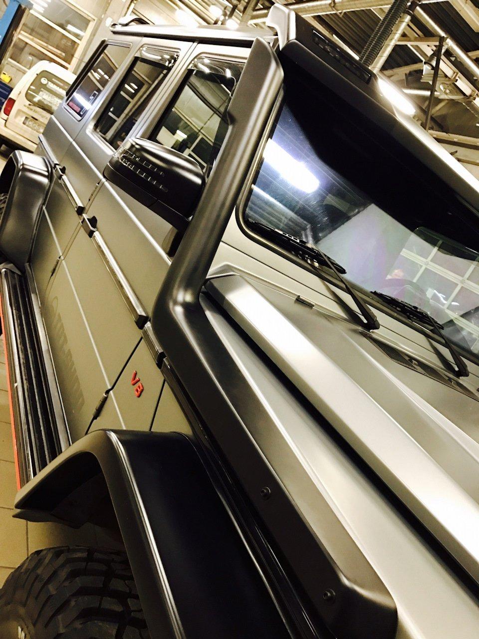 Mercedes G-class G7 4x4² By TRT (22)