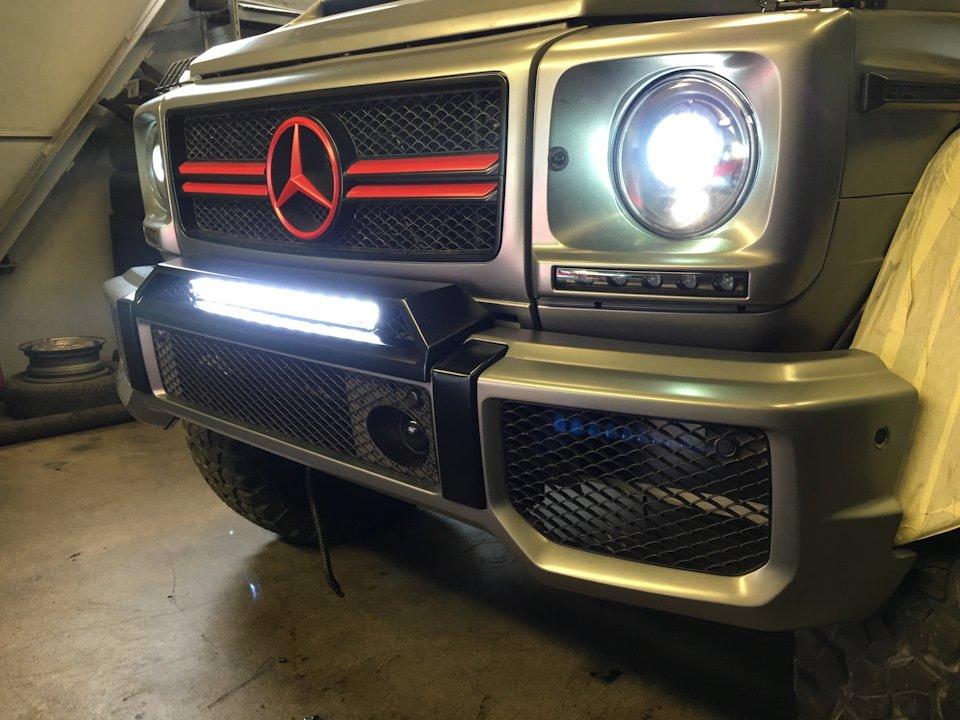 Mercedes G-class G7 4x4² By TRT (29)