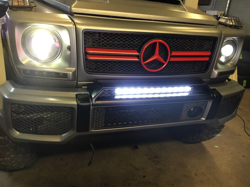 Mercedes G-class G7 4x4² By TRT (38)