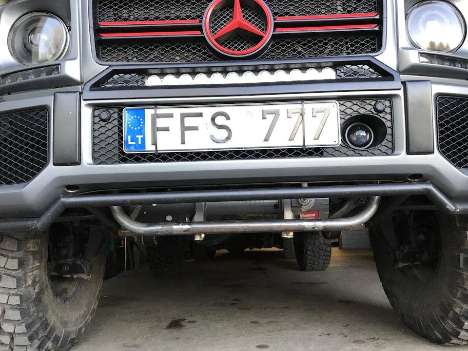 Mercedes G-class G7 4x4² By TRT (46)