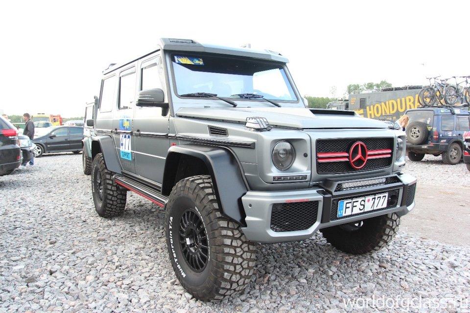 Mercedes G-class G7 4x4² By TRT (47)