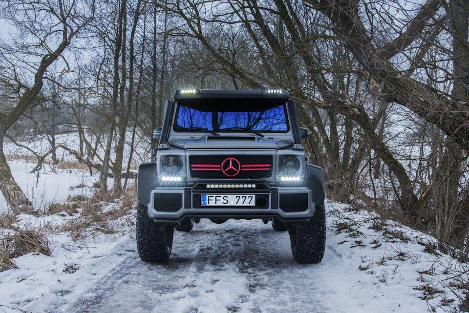 Mercedes G-class G7 4x4² By TRT (52)