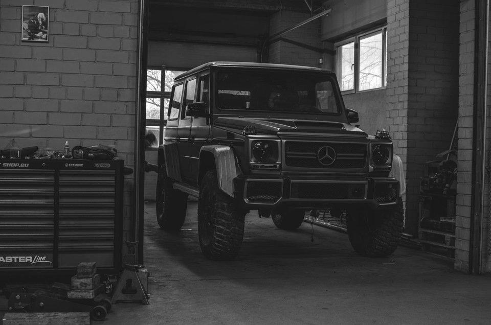 Mercedes G-class G7 4x4² By TRT (5)
