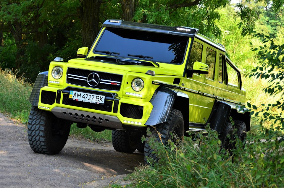 Mercedes G-class G 6x6 BRABUS (7)