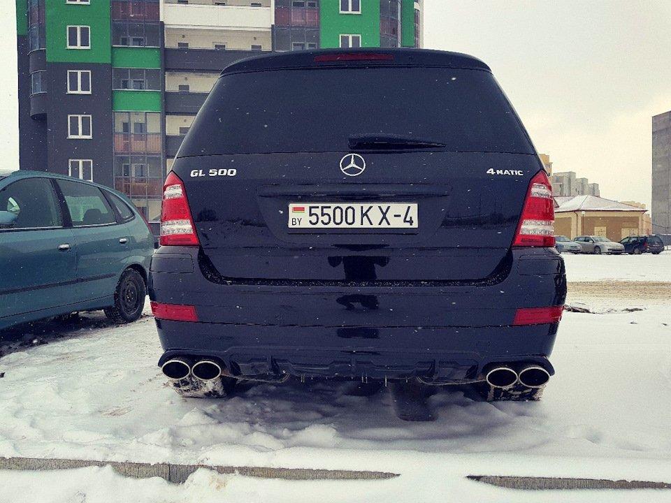 Mercedes GL-class GL500 X164 ODV DESIGN (34)