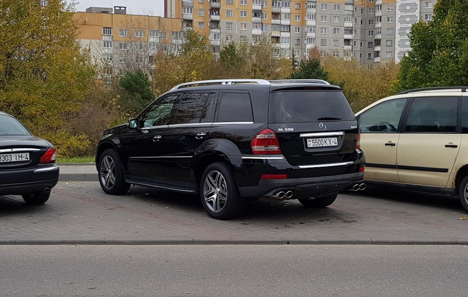 Mercedes GL-class GL500 X164 ODV DESIGN (59)