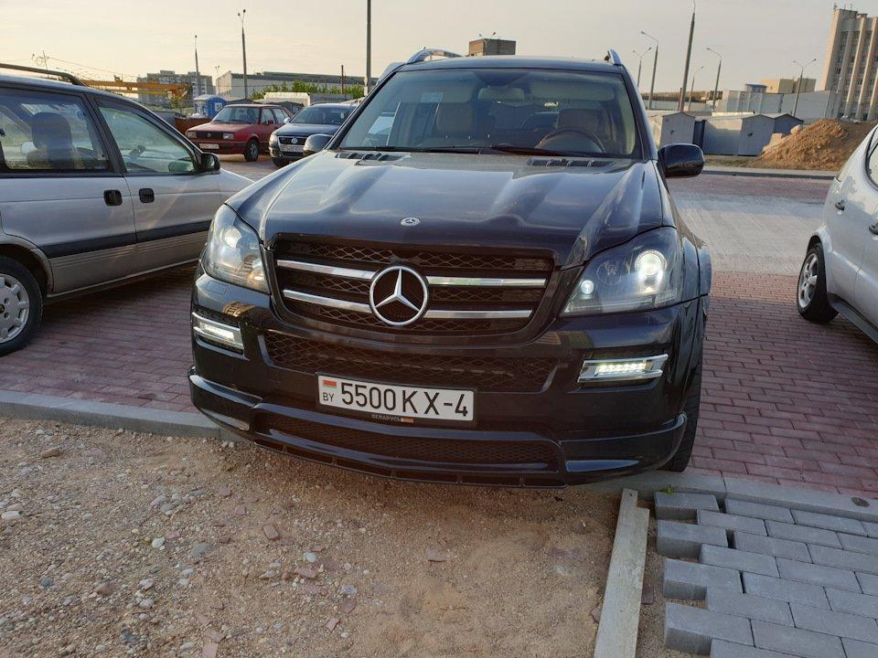 Mercedes GL-class GL500 X164 ODV DESIGN (60)