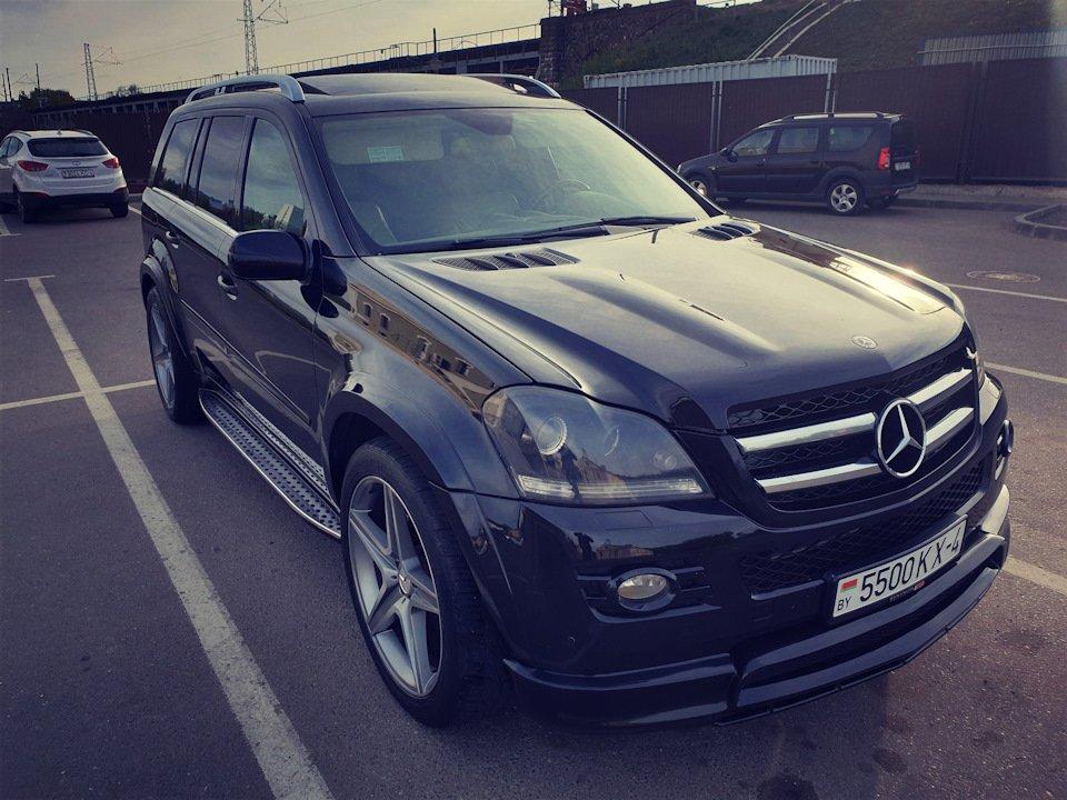 Mercedes GL-class GL500 X164 ODV DESIGN (66)
