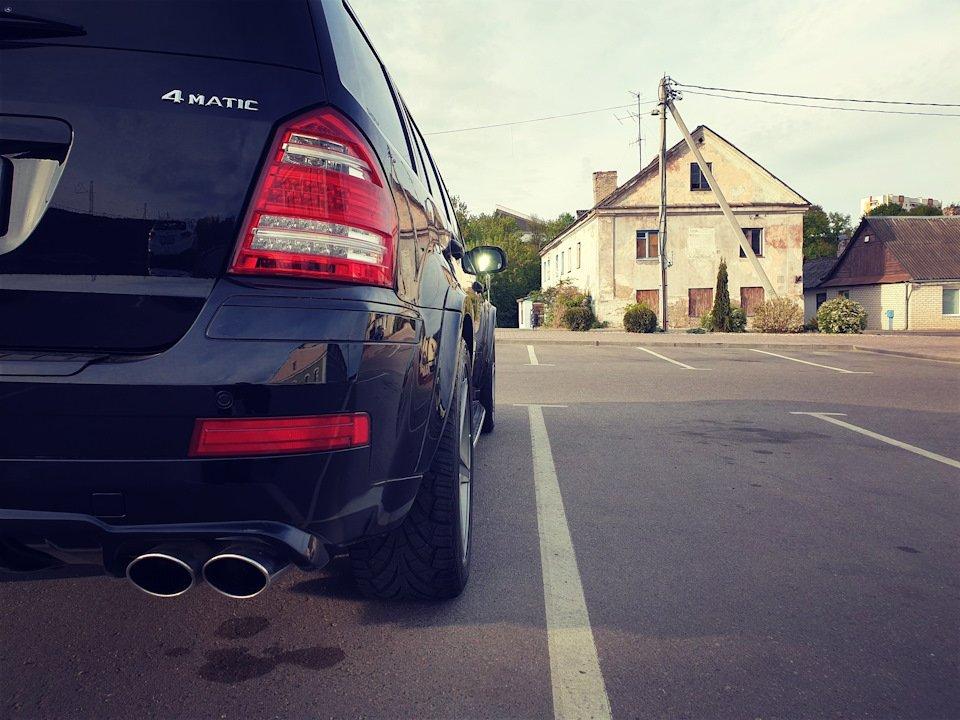 Mercedes GL-class GL500 X164 ODV DESIGN (77)