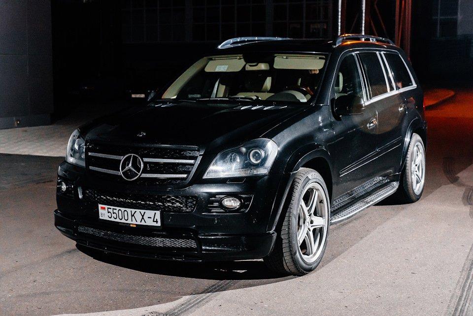Mercedes GL-class GL500 X164 ODV DESIGN (89)