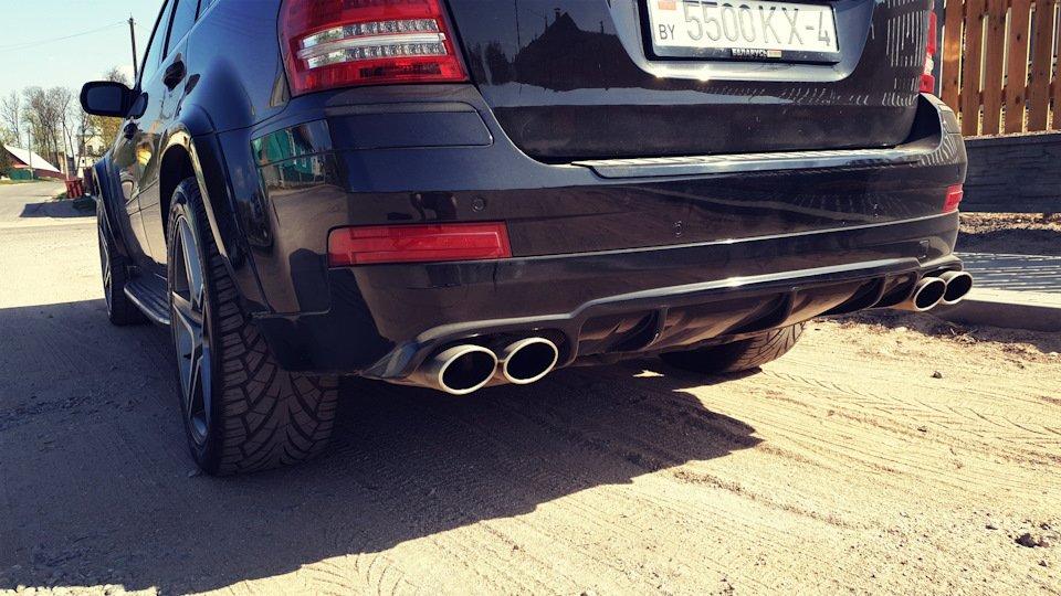 Mercedes GL-class GL500 X164 ODV DESIGN (96)