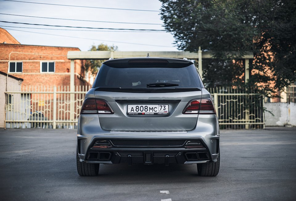 Mercedes GLE-class 2016 RENEGADE Design (71)