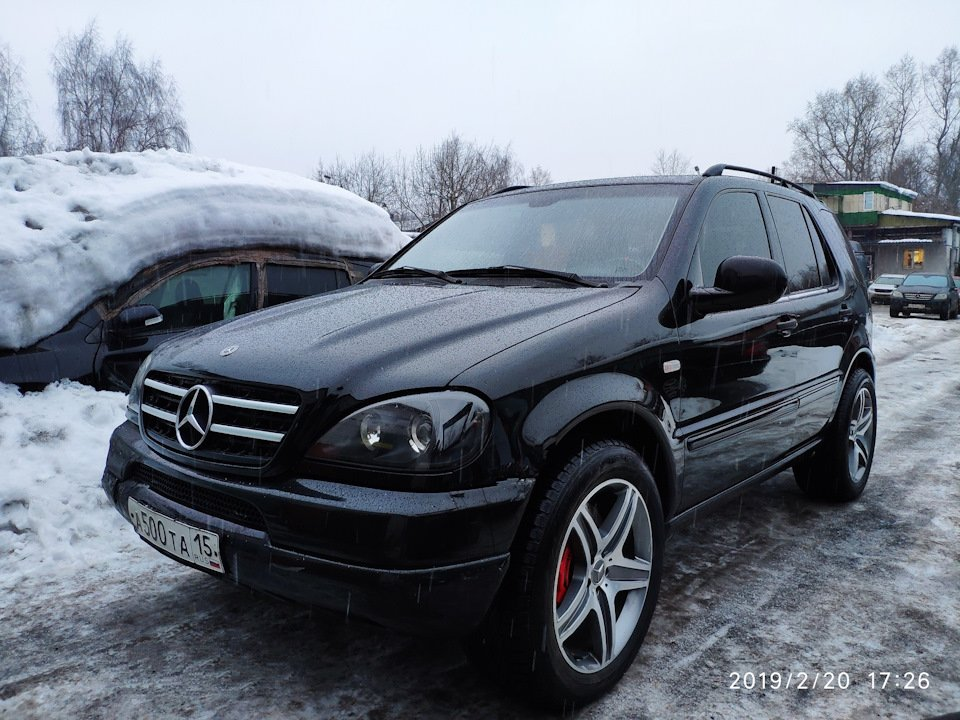 Mercedes M-class ONE.6.3 AMG 5.5 Kompressor W163 (11)