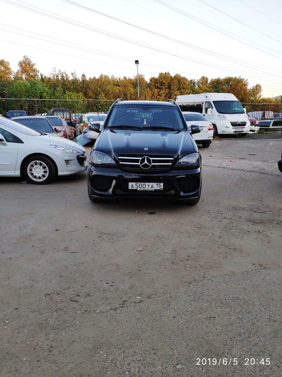 Mercedes M-class ONE.6.3 AMG 5.5 Kompressor W163 (27)