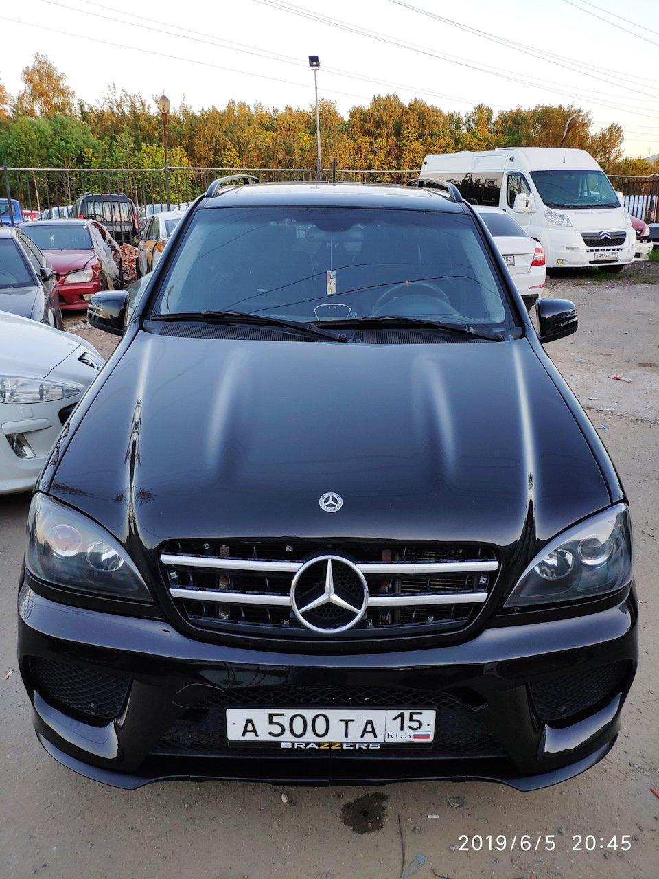 Mercedes M-class ONE.6.3 AMG 5.5 Kompressor W163 (42)