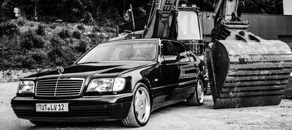Mercedes S-class 600 V12 (14)