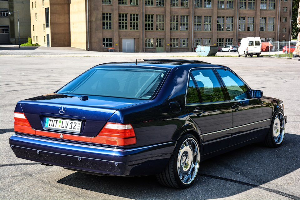 Mercedes S-class 600 V12 (18)