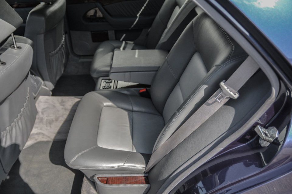 Mercedes S-class 600 V12 (2)