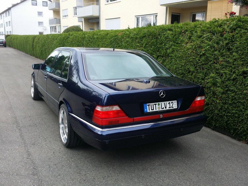 Mercedes S-class 600 V12 (3)