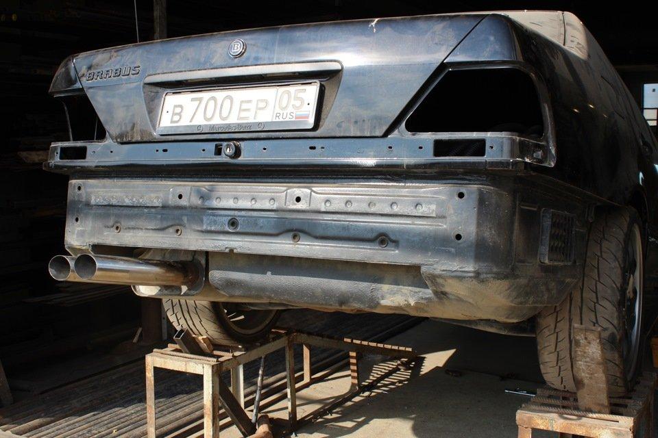 Mercedes S-class W140 BRABUS Project In Progress (139)