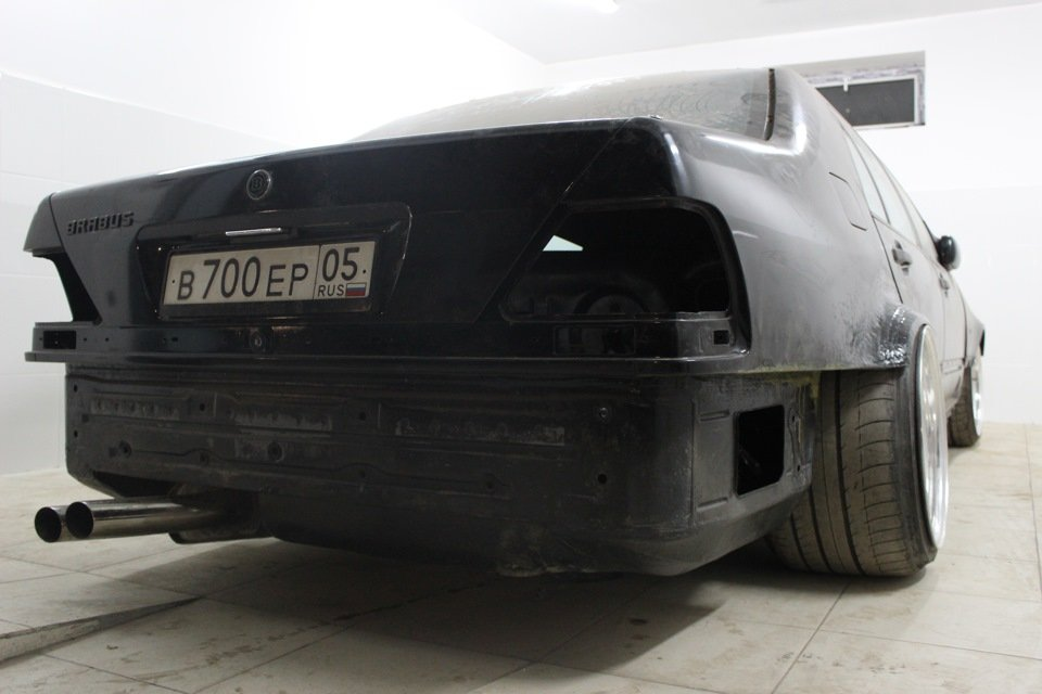 Mercedes S-class W140 BRABUS Project In Progress (152)