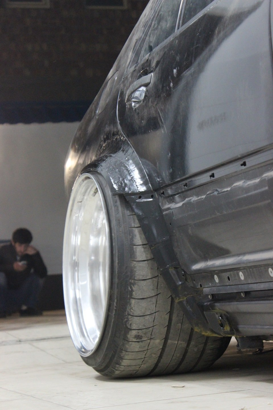 Mercedes S-class W140 BRABUS Project In Progress (163)