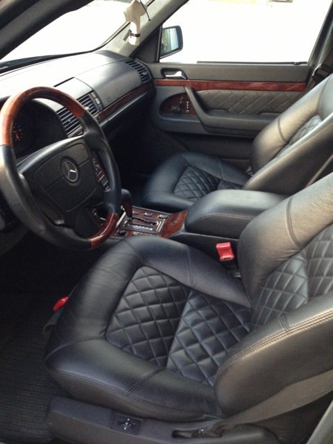 Mercedes S-class W140 BRABUS Project In Progress (167)