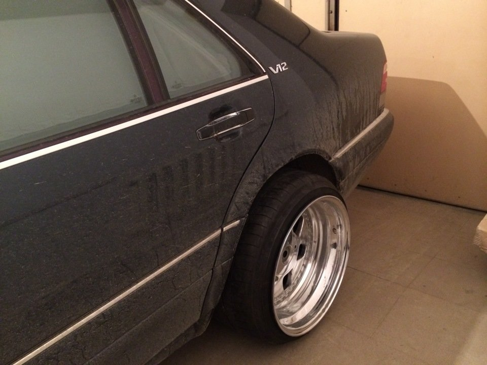 Mercedes S-class W140 BRABUS Project In Progress (171)