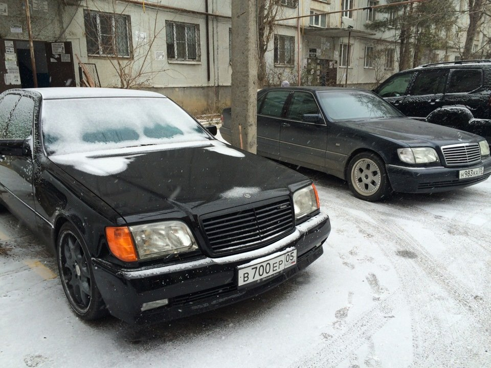 Mercedes S-class W140 BRABUS Project In Progress (182)