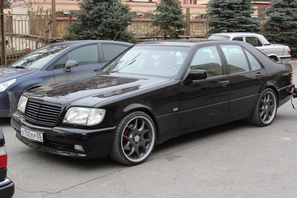Mercedes S-class W140 BRABUS Project In Progress (188)