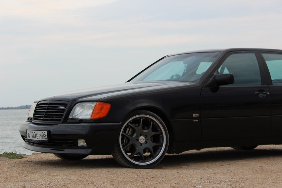 Mercedes S-class W140 BRABUS Project In Progress (192)