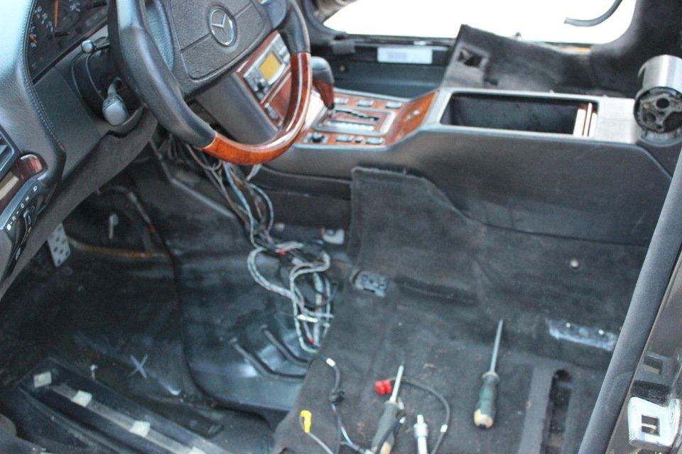 Mercedes S-class W140 BRABUS Project In Progress (213)