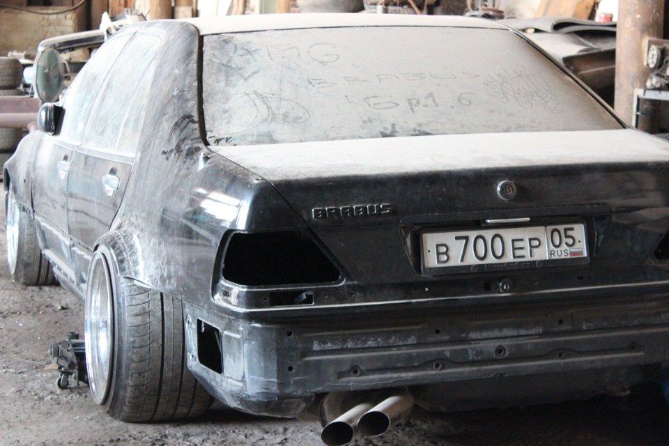 Mercedes S-class W140 BRABUS Project In Progress (240)
