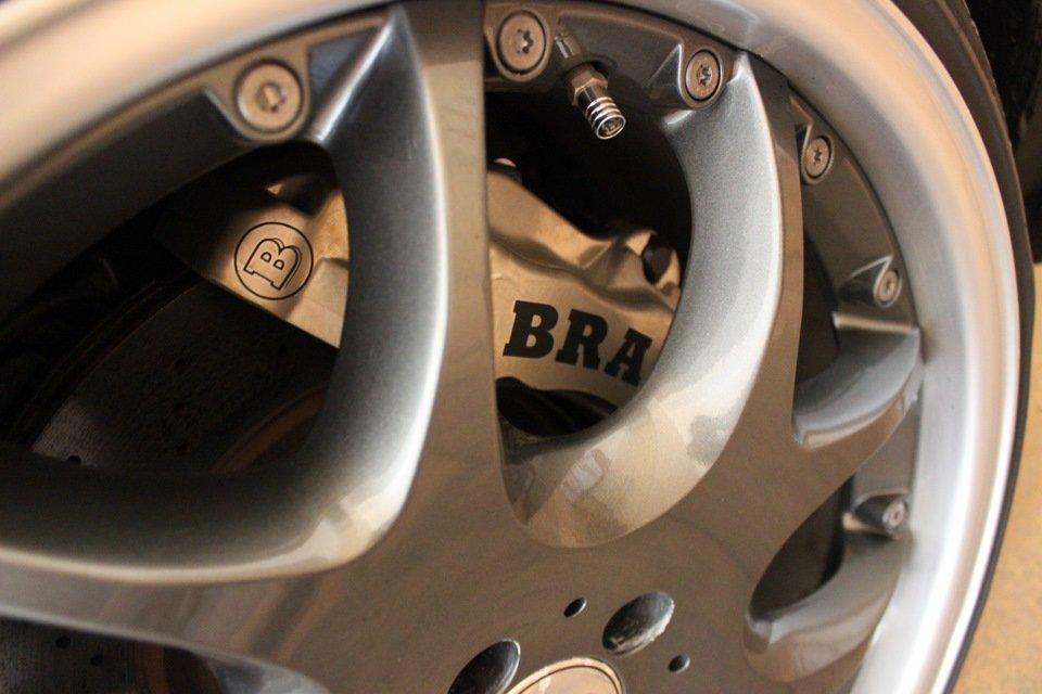 Mercedes S-class W140 BRABUS Project In Progress (249)