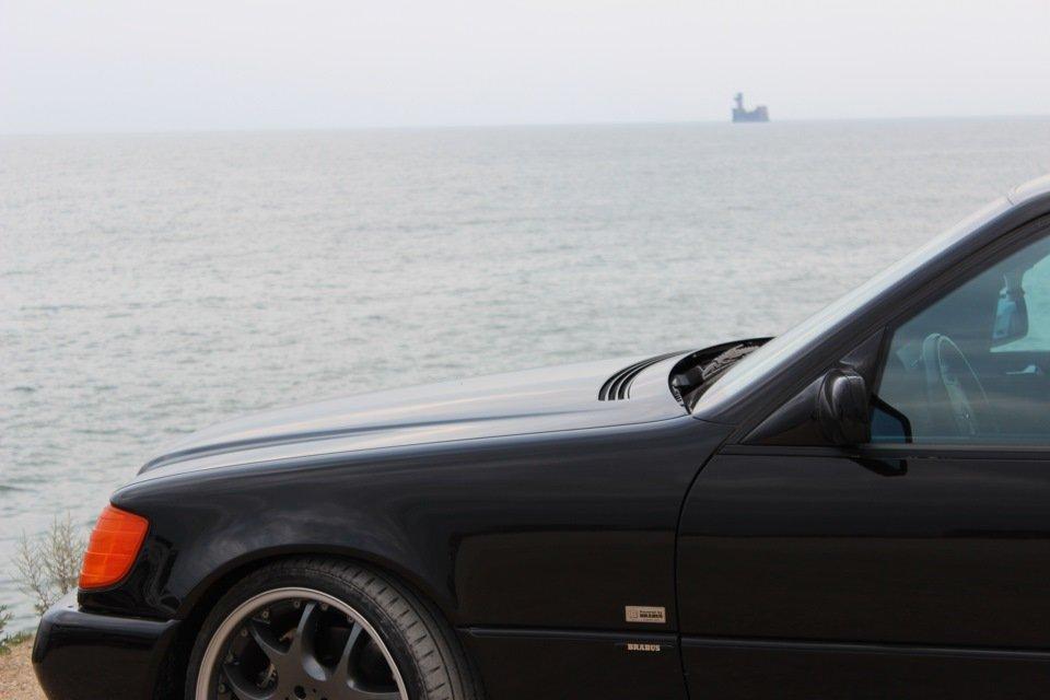 Mercedes S-class W140 BRABUS Project In Progress (38)