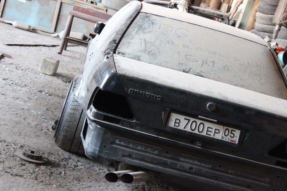 Mercedes S-class W140 BRABUS Project In Progress (3)