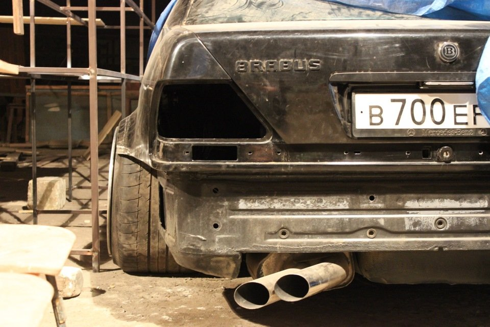 Mercedes S-class W140 BRABUS Project In Progress (50)