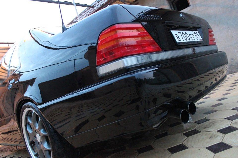 Mercedes S-class W140 BRABUS Project In Progress (71)