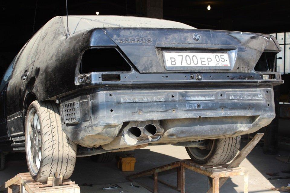 Mercedes S-class W140 BRABUS Project In Progress (88)