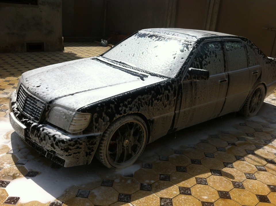Mercedes S-class W140 BRABUS Project In Progress (93)