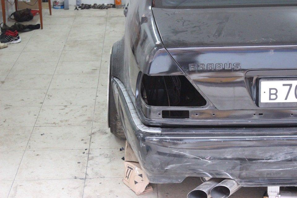 Mercedes S-class W140 BRABUS Project In Progress (95)