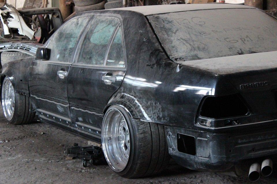 Mercedes S-class W140 BRABUS Project In Progress (97)